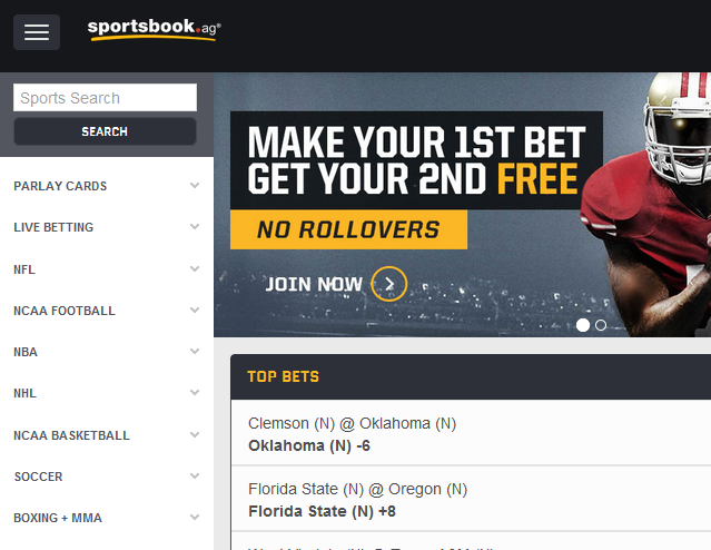 Sportsbook Screenshot